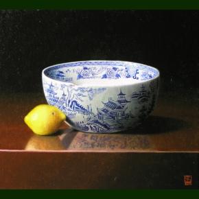 Citron og kinesisk skål