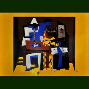 Lego Picasso eller Silent Essay on Cubism